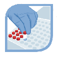 Icone dosimétrie d'irradiateur